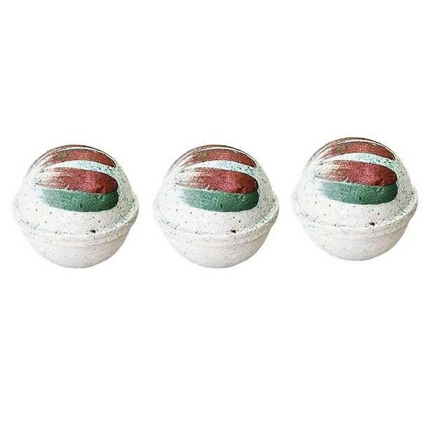 کوکتل نمک حمام مدل Pomegranate کد 02 وزن 60 گرم بسته 3 عددی