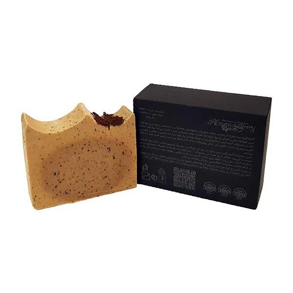 صابون شستشو آلموندگری مدل شیر قهوه وزن 95 گرم