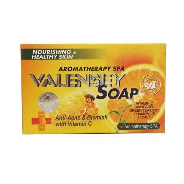 صابون ضدلک والنسی حاوی عصاره عسل و پرتقال مقدار 120 گرم